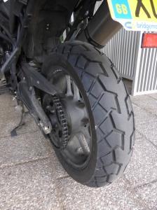 TKC70 rear